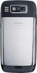 Nokia E72 backside camera photo